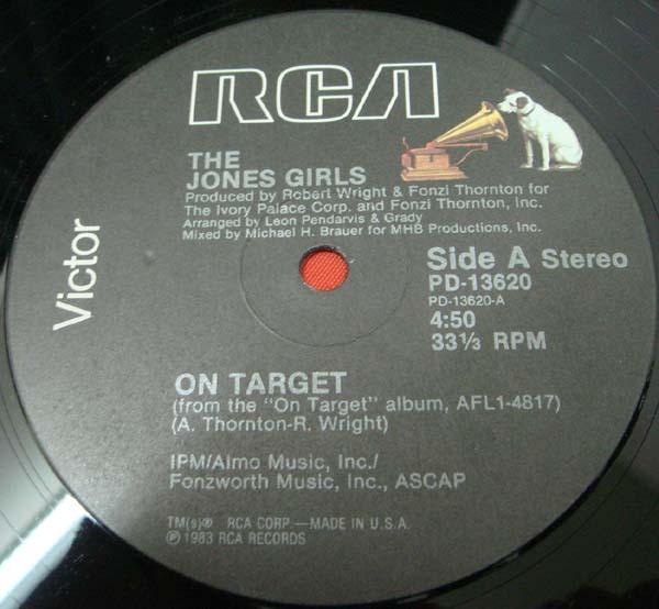Jones Girls On Target